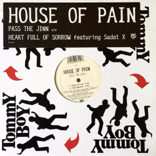 "House Of Pain - Pass The Jinn/Heart Full Of Sorrow (12"") (VG-/EX-)"